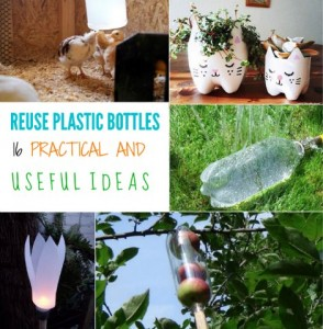 16 Inspiring Ways To Make Useful Things From Old Plastic Bottles