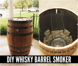 How To Make A Whiskey Barrel Smoker