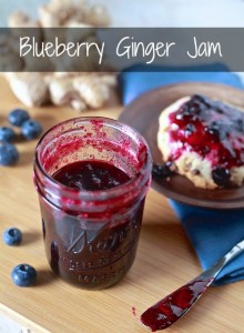 Blueberry Ginger Jam Recipe