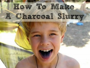 How To Make A Charcoal Slurry Absorptive Antidote For Emergencies
