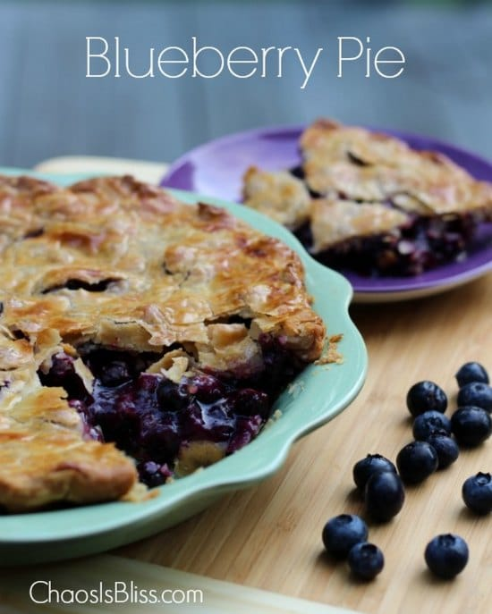 easy-blueberry-pie