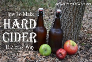 How To Make Hard Cider The Easy Way