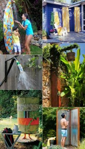 16 DIY Outdoor Showers