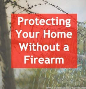 How-To: Protecting Your Home Without A Firearm