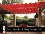 9 Clever Ways For A Shady Backyard Oasis