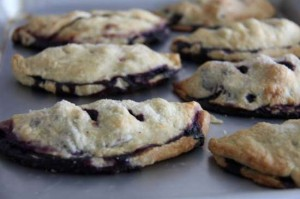 Fresh Blueberry Hand Pies