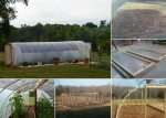 How To Build A 300 Square Foot Windproof Hoop House For Under $500
