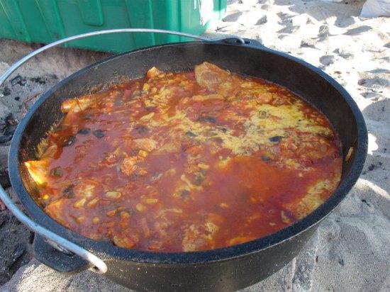 dutch-oven-chicken-enchiladas