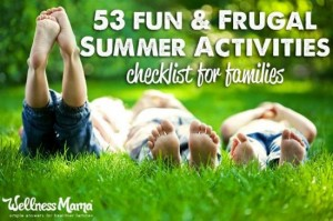 53 Fun Family Summer Activities Checklist
