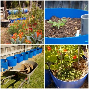 DIY Gardening Reservoir Bins