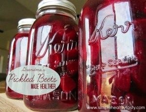 Healthy Homemade Pickled Beets Recipe