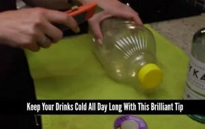 Keep Your Drinks Cold All Day Long With This Brilliant Tip