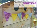 Natural Fly Bunting For Chicken Coop, Barn, And Picnic Area