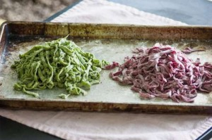 How To Make Naturally Colored Pasta