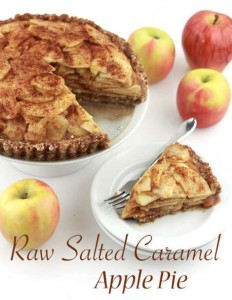 Recipe: Raw Salted Caramel Apple Pie