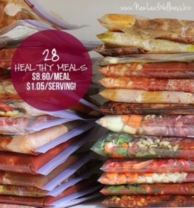 28 Slow Cooker Freezer Meals In 3 Hours