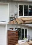DIY Wood Screen To Hide A Utility Box