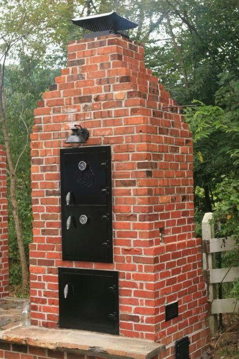 How To Build A Brick Smoker