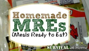 Homemade Meals Ready To Eat (MREs)