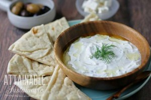 How To Make Homemade Pitas And Tzatziki Sauce