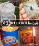 43 Off The Grid Tips