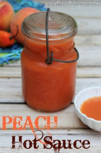Easy Peach Hot Sauce Recipe