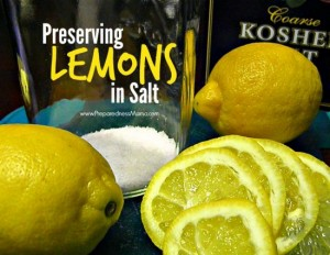 How To Preserve Lemons In Salt