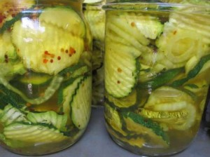 Sweet And Spicy Zucchini Pickles Recipe