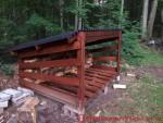 DIY Firewood Shed Plans