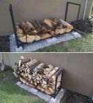 How To Make A Firewood Rack