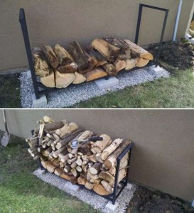 How To Make A Firewood Rack