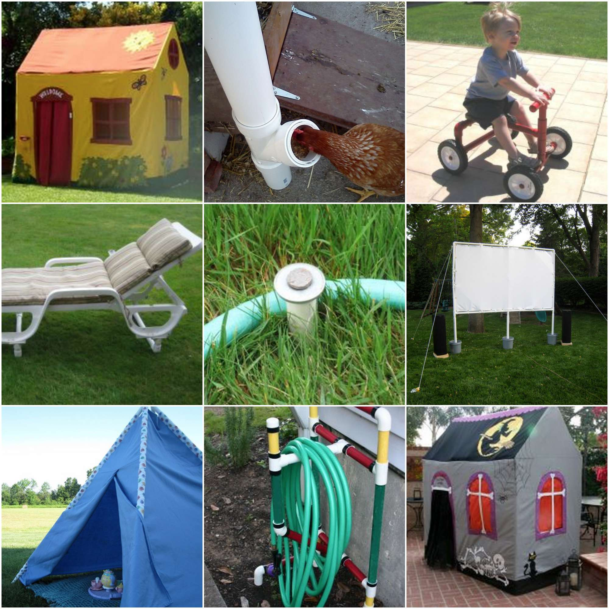 100 pvc plans and ideas for Diy pvc projects