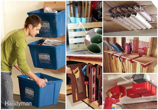 20 garage storage solutions and ideas 20 Storage Ideas