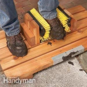 DIY Mud-Busting Boot Scraper