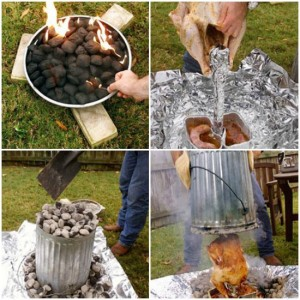 How To Cook A Turkey In A Trash Can In 90 Minutes