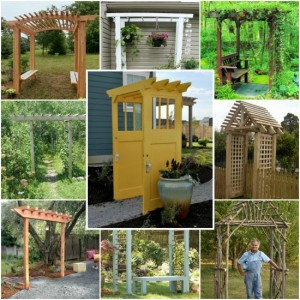 21 Brilliant DIY Backyard Arbor Ideas