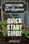 Homesteading Quick Start Guide For Beginners