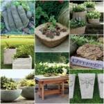 21 Hypertufa Garden Art Designs