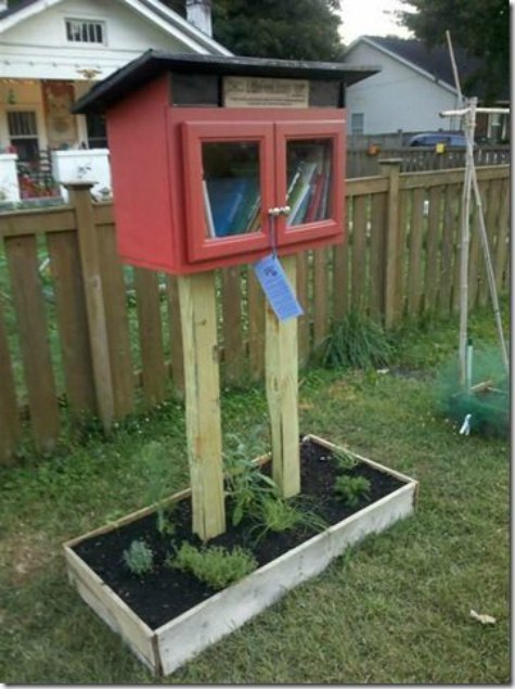 little-free-library-planter