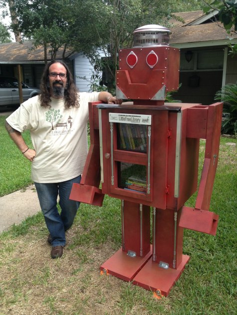 little-free-library-robot