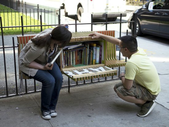 park-bench-little-free-library