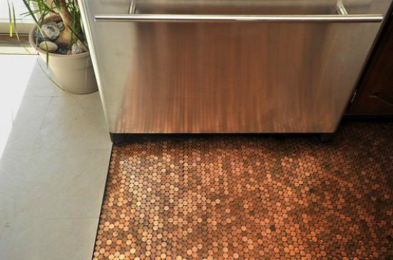 penny-floor-ways-to-repurpose-pennies