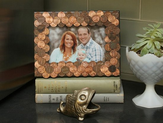 penny-frame-ways-to-repurpose-pennies