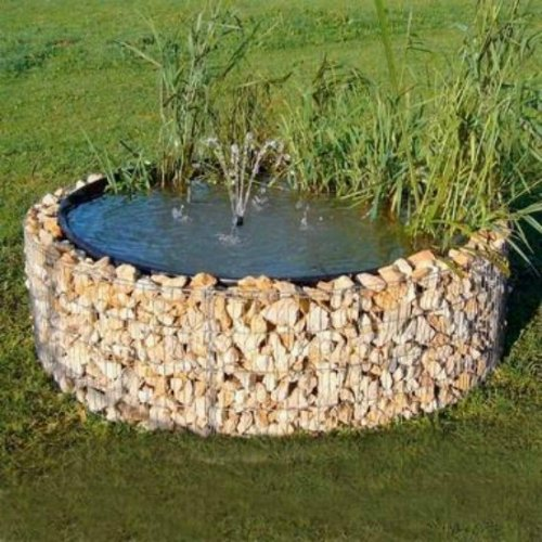Build A Raised Pond: 21 Practical Ways To Use Gabions On The Homestead