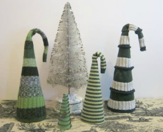 recycled-sweater-hat-trees-ways-to-repurpose-old-sweaters