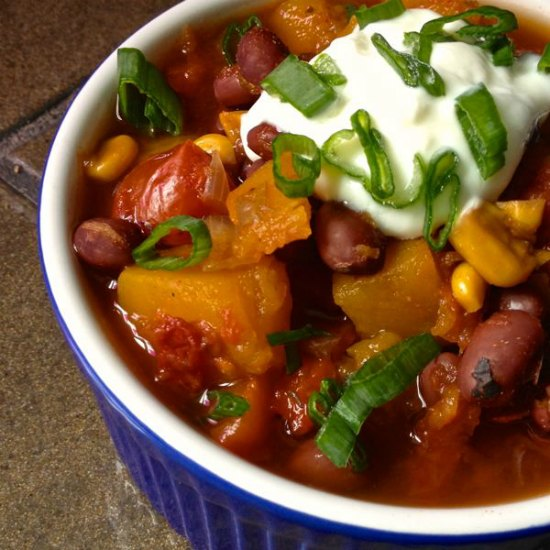 vegetarian-chili-butternut-squash-crockpot-chili-recipes