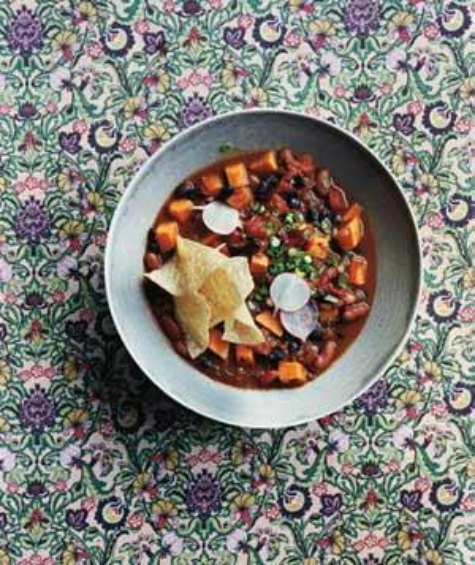 vegetarian-chili-crockpot-chili-recipes