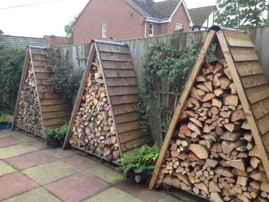 Exceptionnel 1 Firewood Storage Ideas