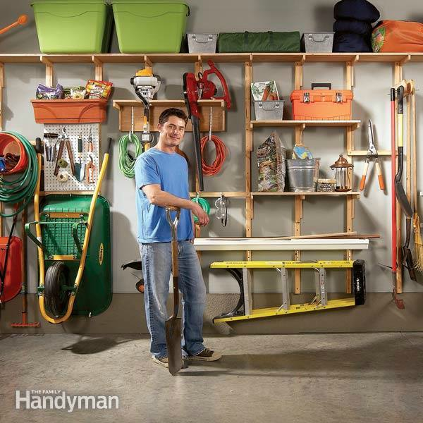 20 garage storage solutions and ideas for Diy garage storage loft