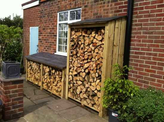 16 Firewood Storage Ideas